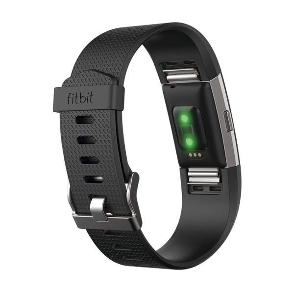 [新品] Fitbit フィットネスリストバンドCharge2 Large Black  [もらえるレンタル®]