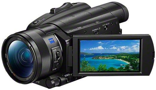 SONY 4Kビデオカメラ FDR-AX700
