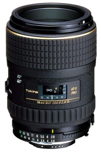 Tokina AT-X M100 PRO D マクロレンズ (NIKON Fマウント)