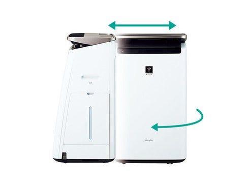 SHARP 加湿空気清浄機 KI-NP100-W