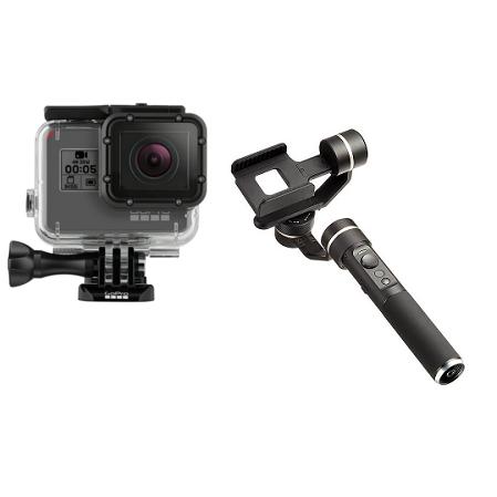 GoPro HERO5 Blackと手持ちジンバル Feiyu G5 街歩き撮影セット
