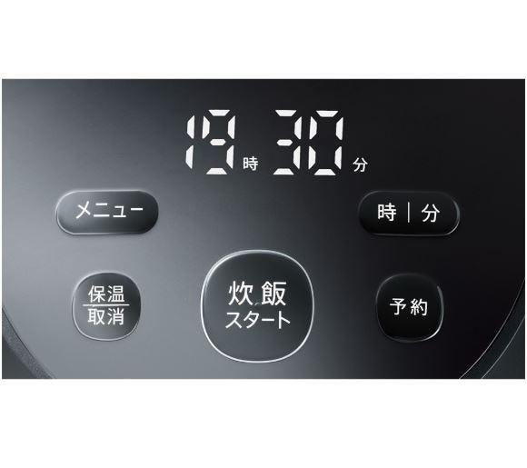 SHARP IHジャー炊飯器 PLAINLYシリーズ KS-HF05B (0.5〜3合炊き)