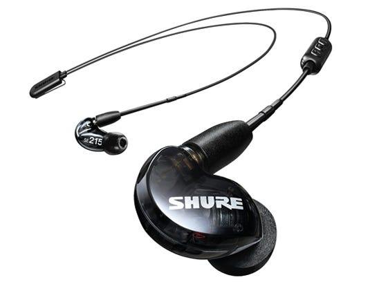 SHURE  SE215-K+BT2-A ブラック ワイヤレスイヤホン