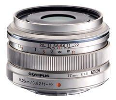 OLYMPUS M.ZUIKO DIGITAL 17mm F1.8 シルバー 単焦点レンズ