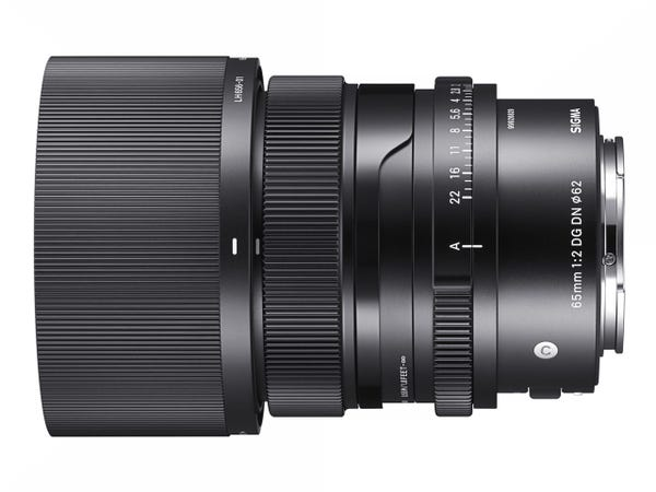 SIGMA 65mm F2 DG DN Contemporary 単焦点レンズ (SONY Eマウント用) 353650