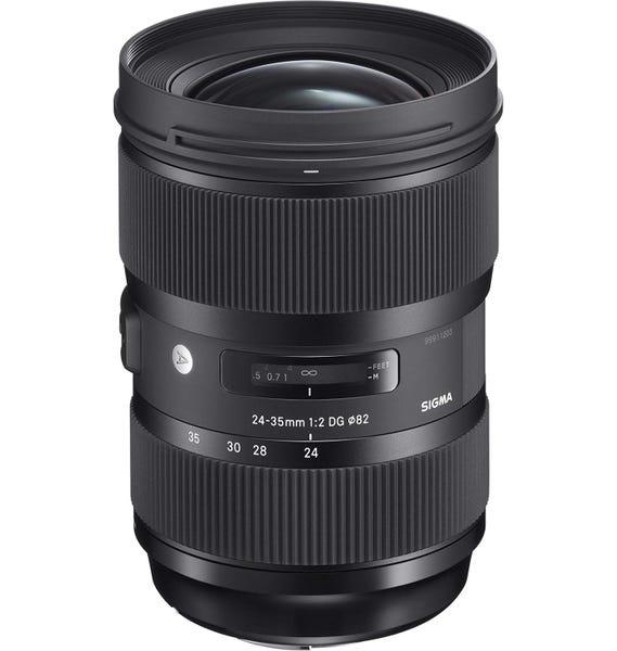 SIGMA 24-35mm F2 DG HSM 標準ズームレンズ (CANON EFマウント) 588540