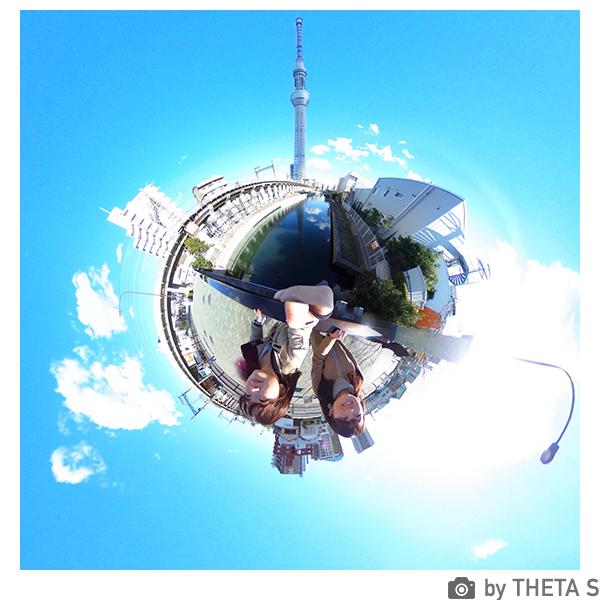 全天球カメラ RICOH THETA S