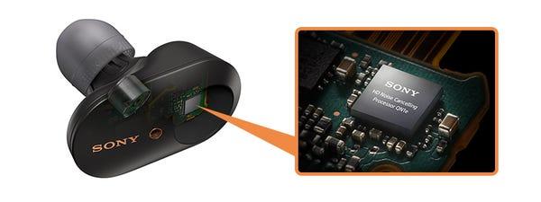 SONY ワイヤレスノイズキャンセリングイヤホン WF-1000XM3 ブラック