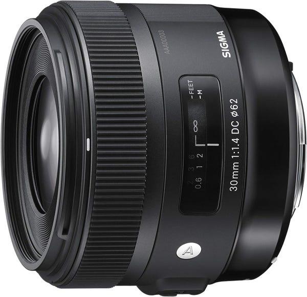 SIGMA 30mm F1.4 DC HSM 単焦点レンズ (CANON EFマウント) 301545