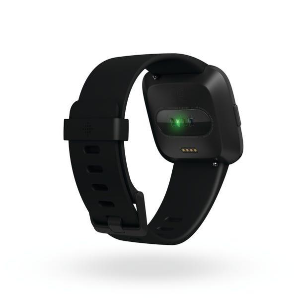 [新品] Fitbit フィットネスリストバンド Versa Black  [もらえるレンタル®]