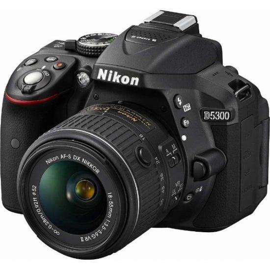 NIKON D5300 18-55 VR IIレンズキット 一眼レフ