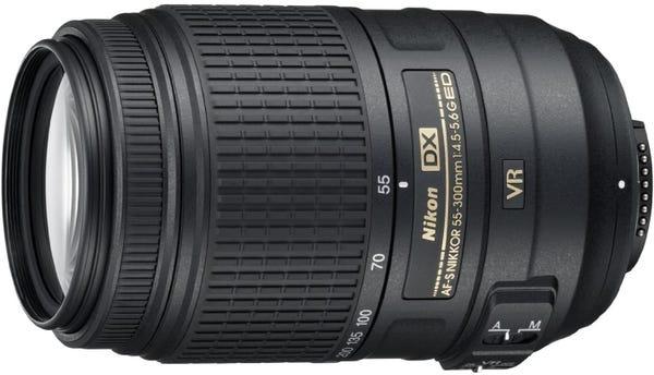 NIKON AF-S DX NIKKOR 55-300mm f/4.5-5.6G ED VR 望遠ズームレンズ