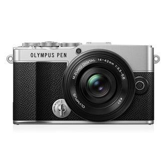 OLYMPUS PEN E-P7 14-42mm EZ レンズキット シルバー ミラーレス一眼