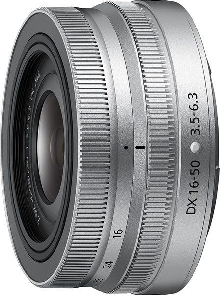 NIKON NIKKOR Z DX 16-50mm f/3.5-6.3 VR シルバー 標準ズームレンズ