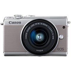 CANON EOS M100 レンズキット グレー ミラーレス一眼