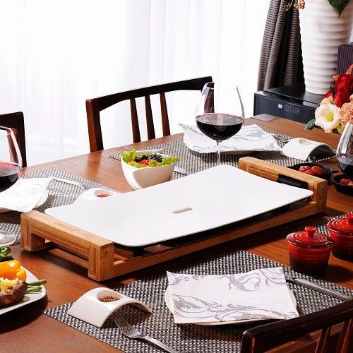 PRINCESS 白いホットプレート テーブルグリルピュア