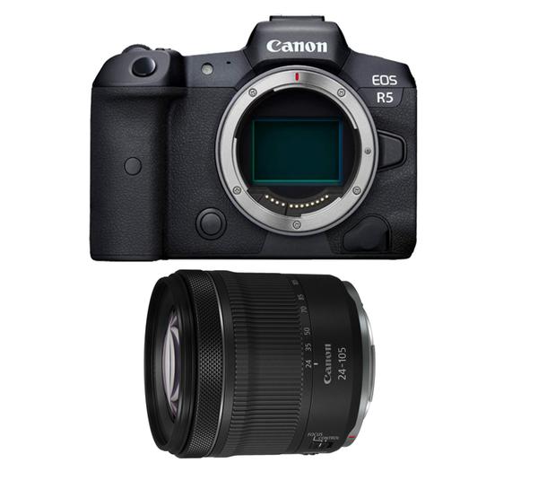 Canon EOS R5 ミラーレス一眼 RF24-105 IS STMレンズキット