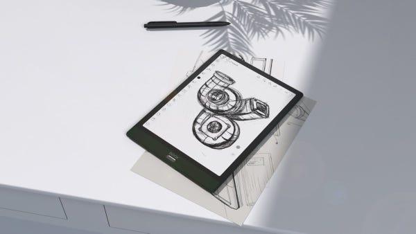 BOOX Note3 10.3インチ Android10 E Inkリーダー,RAM4GB,ROM64GB