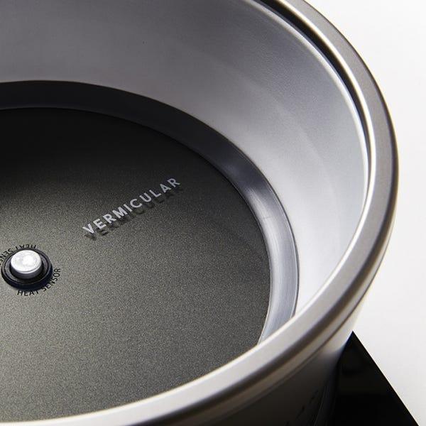 [新品]バーミキュラ ライスポット ソリッドシルバー RP23A-SV 5合炊き 炊飯器