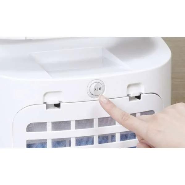 [新品]siroca 加湿つき温冷風扇 シロカのなごみ SH-C251 ホワイト 扇風機/冷風扇/ヒーター/加湿