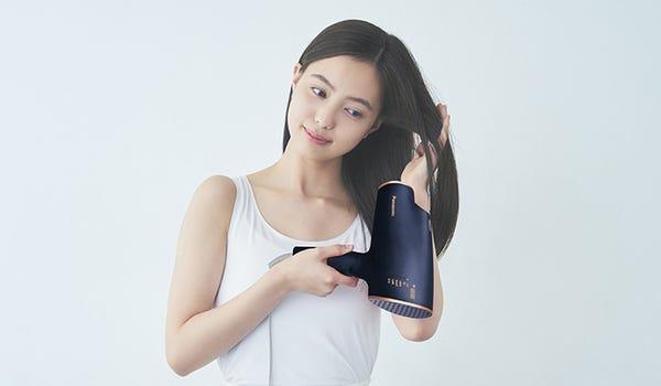 [販売][新品]Panasonic ヘアードライヤー ナノケア EH-NA0E(ネイビー)