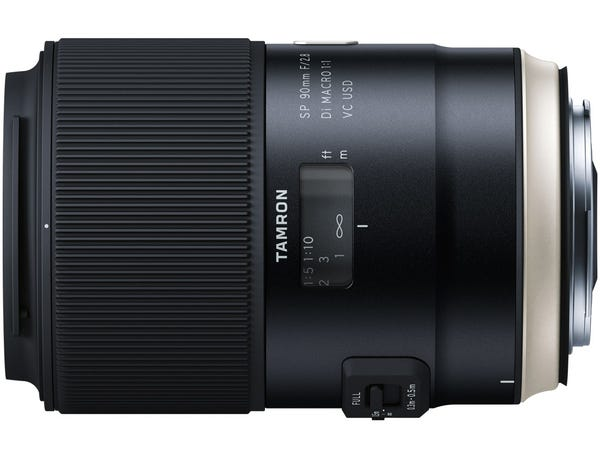 TAMRON SP 90mm F/2.8 Di MACRO 1:1 VC USD Model F017 単焦点レンズ (CANON EFマウント)