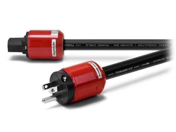 オヤイデ電気 電源ケーブル比較セット「VONDITA-X」+「TUNAMI GPX-R V2」+「TUNAMI GPX V2」+「BLACK MAMBA-Σ V2」+「BLACK MAMBA-α V2」
