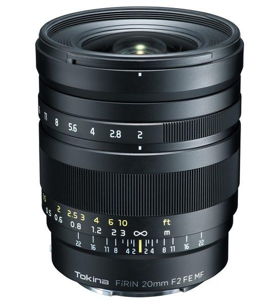 Tokina FíRIN 20mm F2 FE MF (SONY Eマウント)