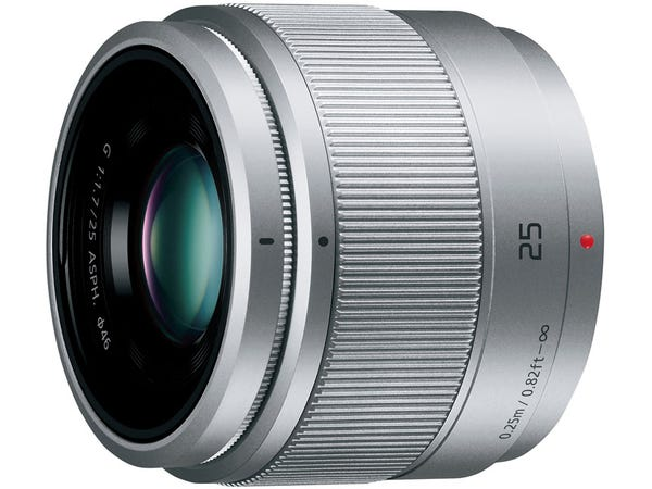 Panasonic LUMIX G 25mm / F1.7 ASPH. 単焦点レンズ