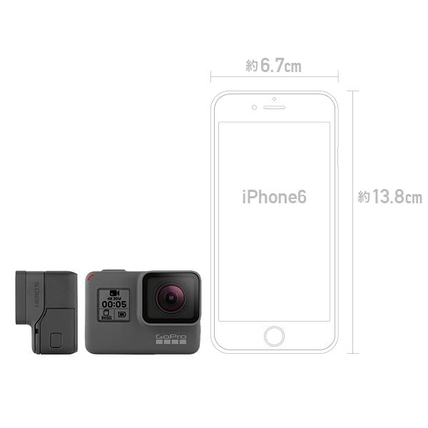 GoPro HERO5 Black 定番のマウントセット(クリップマウント)